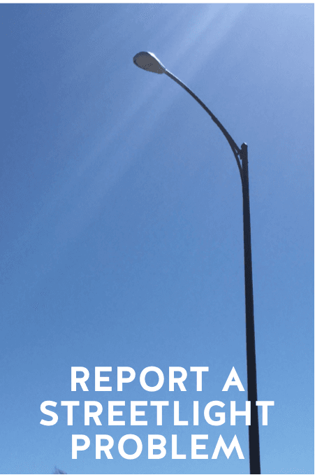 Report a Streetlight Problem