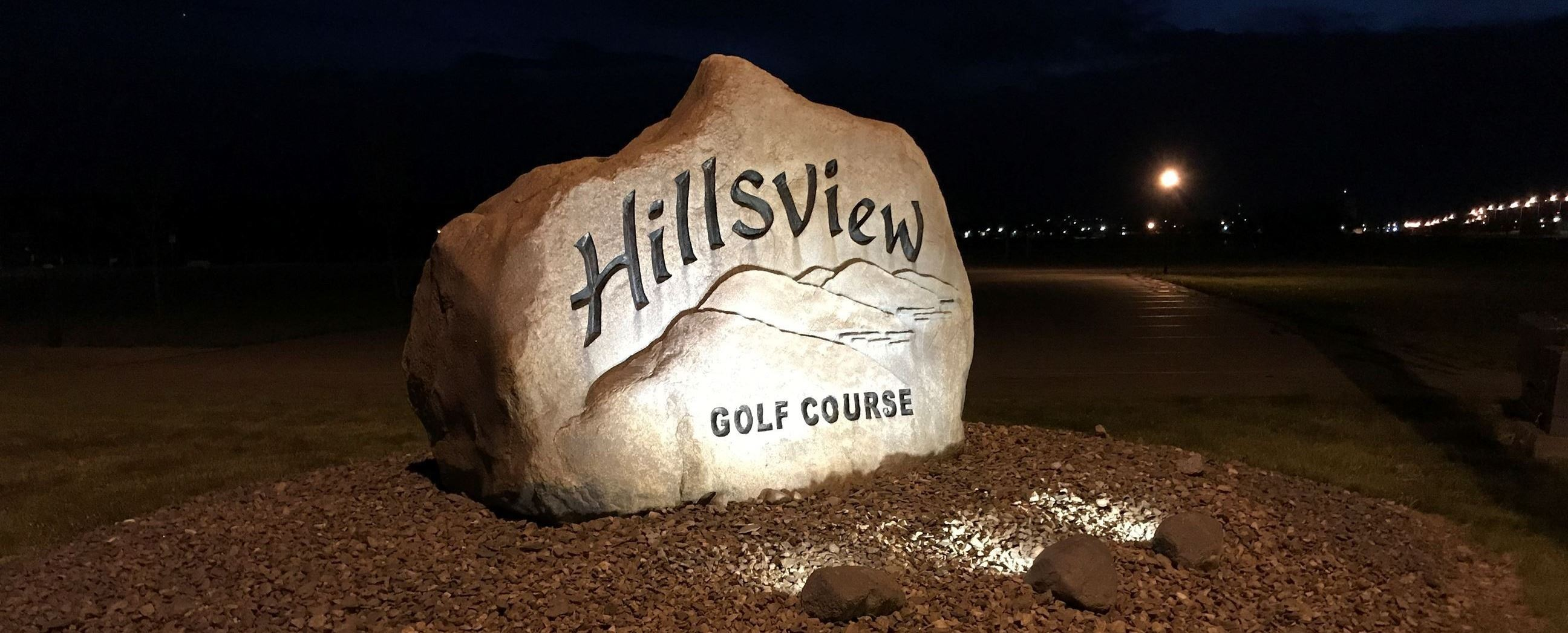 Hillsview  Welcome Rock