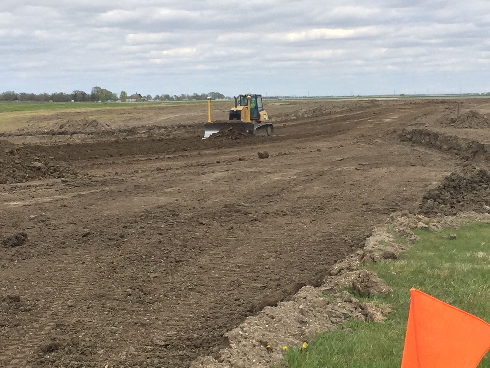 TAXIWAY CONSTRUCTION AT PIERRE REGIONAL AIRPORT