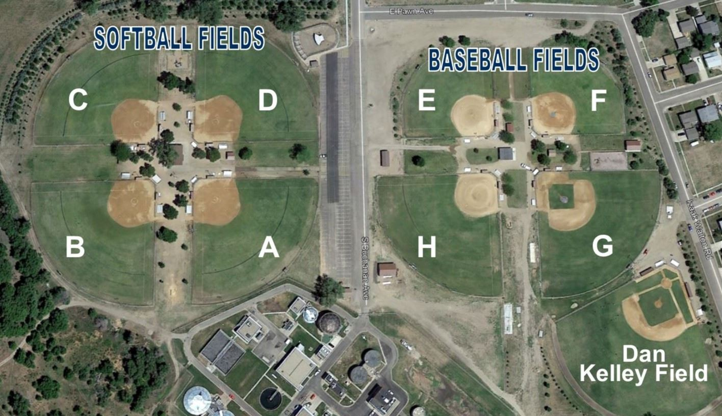 OAHE SPORTS COMPLEX MAP
